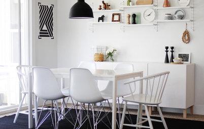 Det nya svarta: Pendellampor i köket