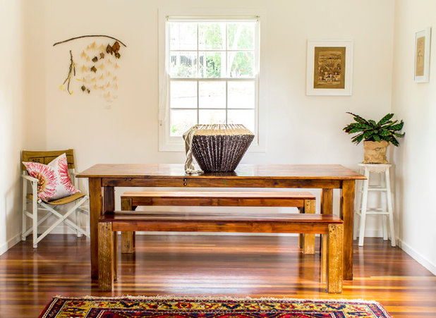 Contemporary Dining Room by Rachael Honner Styling