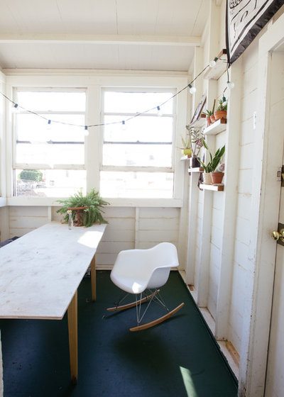 Eclectic Dining Room by Nanette Wong