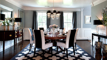 My Houzz: A Basic Builder Home Gets the Glam Treatment