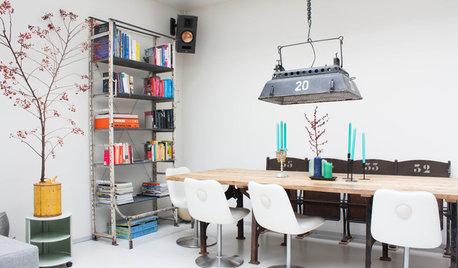 Quelles chaises inviter autour d'une table industrielle ?