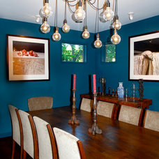 Eclectic Dining Room by Kara Mosher