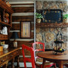 My Houzz: A Rustic Log Cabin Charms in the Mountains of Alabama