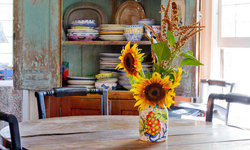 My Houzz: An Antique Cape Cod House Explodes With Color