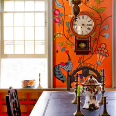 eclectic dining room by Rikki Snyder