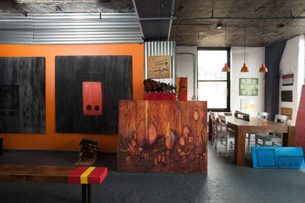 Industrial Dining Room by Jason Snyder