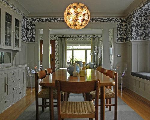 Craftsman Style Dining Room | Houzz