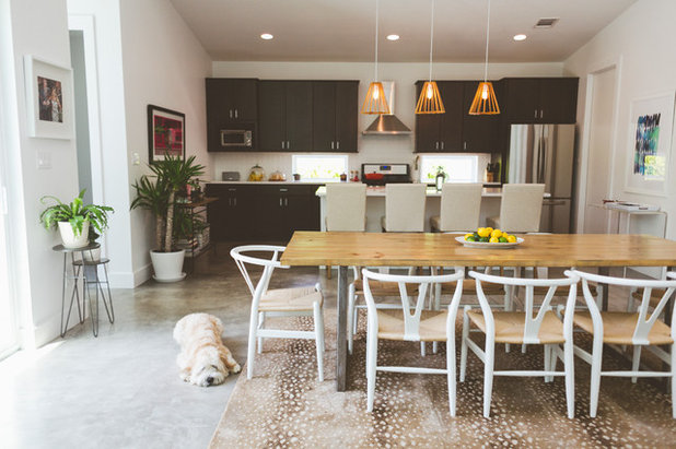 Contemporary Dining Room by Heather Banks