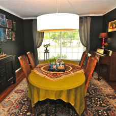 Eclectic Dining Room by Valerie McCaskill Dickman