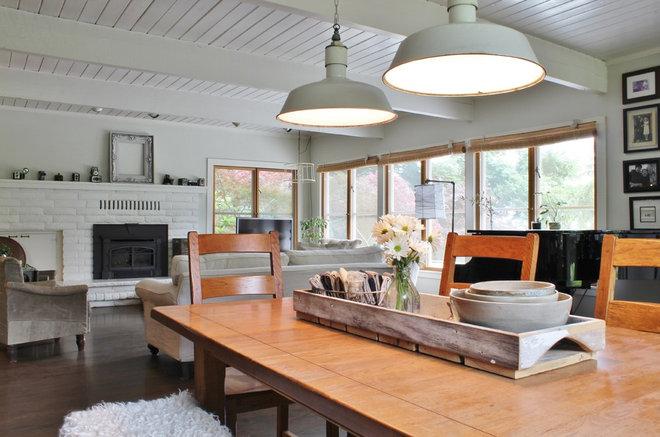 Farmhouse Dining Room by Kimberley Bryan