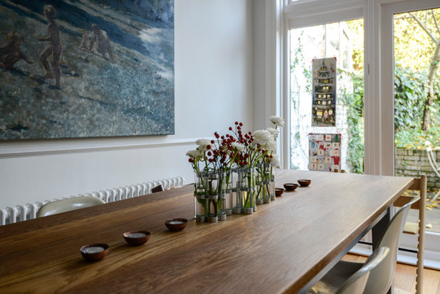 Transitional Dining Room My Houzz: Casual Comfort in a London Victorian
