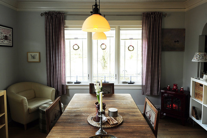 Eclectic Dining Room by Julie Smith