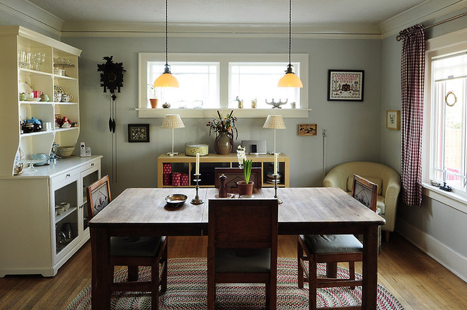Rustic Dining Room by Julie Smith