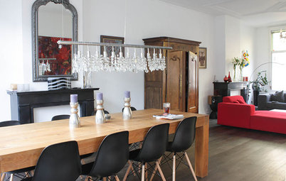 My Houzz: Modern Style and Abstract Art Intertwine in Amsterdam