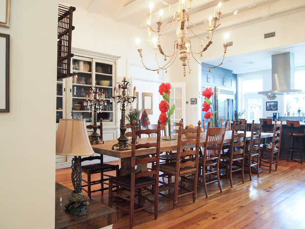 Eclectic Dining Room by Kayla Stark