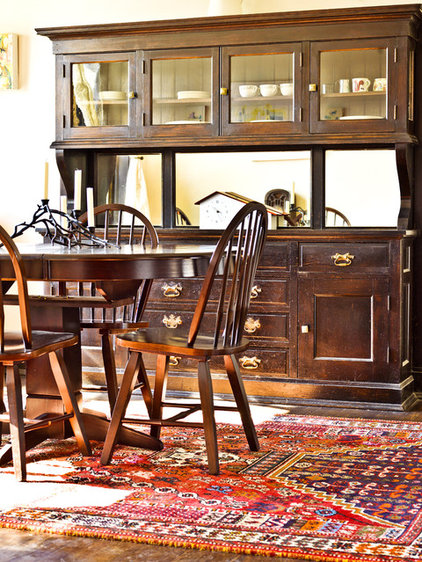Traditional Dining Room by Cynthia Lynn Photography