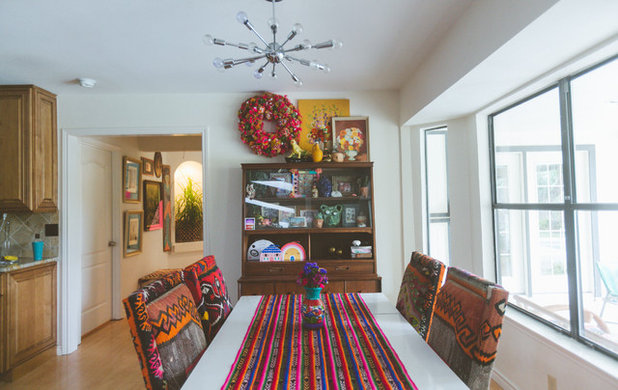 Eclectic Dining Room by Heather Banks