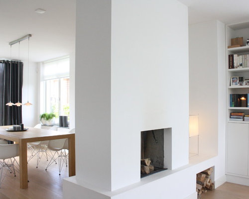 Fireplace Room Divider Houzz