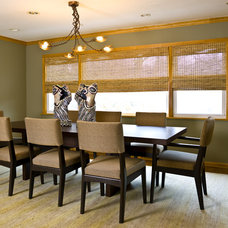 Contemporary Dining Room by Cynthia Lynn Photography