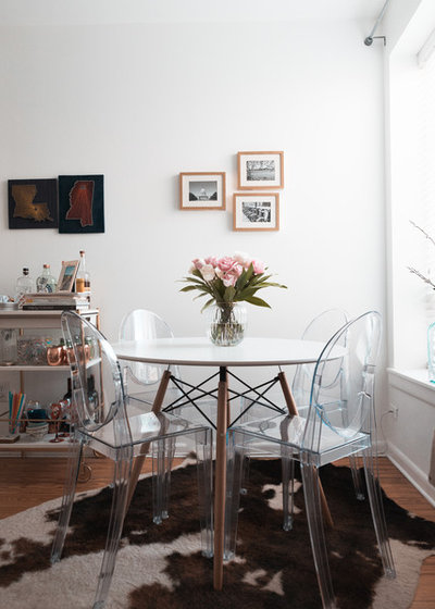 My Houzz: Cozy, Clean Style In A D.C. Row House Apartment
