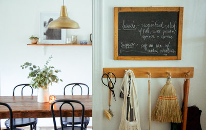 USA Houzz: Cosy and Clutter-Free in a Charming Rental Home
