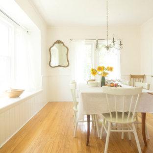Свежая идея для дизайна: столовая в стиле кантри - отличное фото интерьера