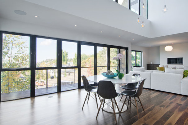 Modern Dining Room by Lucy Call