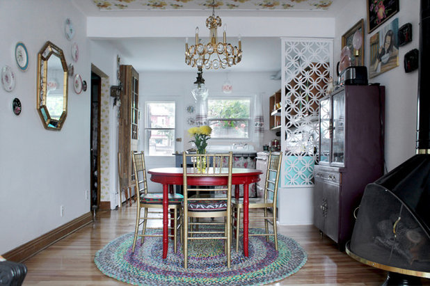 Eclectic Dining Room by Esther Hershcovich