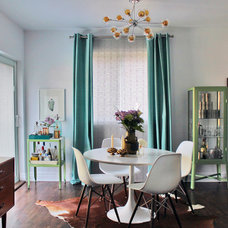 Midcentury Dining Room by Laura Garner