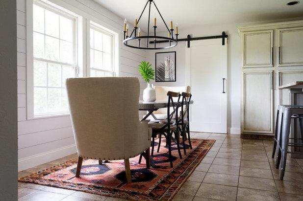 Farmhouse Dining Room by Angela Flournoy