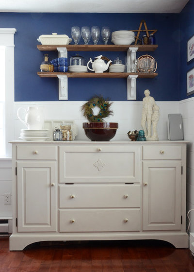 Traditional Dining Room by Design Fixation [Faith Provencher]