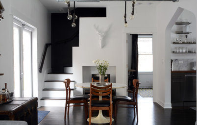 My Houzz: Eclectic Industrial Style in a Charming Chicago Home