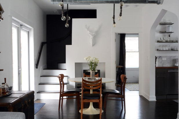 Industrial Dining Room by Kayla Pearson