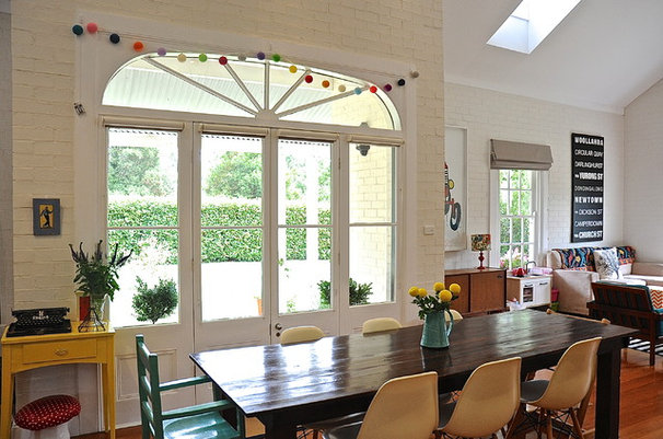 Eclectic Dining Room by Luci.D Interiors