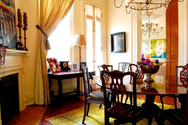 Eclectic Dining Room by Corynne Pless