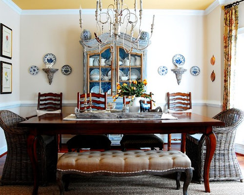 Country Dining Room Decor french country dining room decorating | houzz