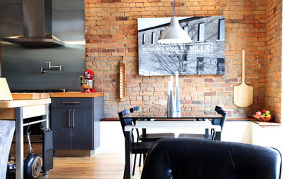 My Houzz: Living and Painting in a Converted 1870 Woolen Mill