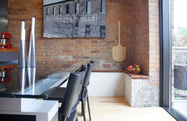 Marvelous Industrial Dining Room by Esther Hershcovich