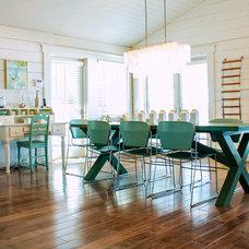 Beach Style Dining Room by Mina Brinkey