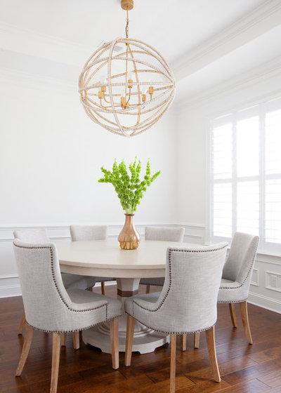 Traditional Dining Room by Margaret Wright Photography
