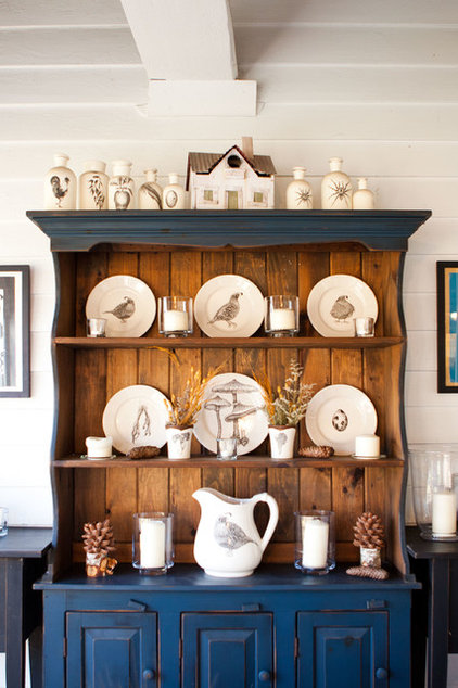 farmhouse dining room by Tess Fine
