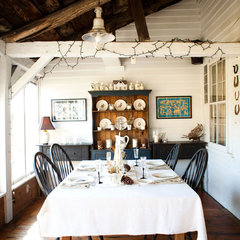 traditional dining room by Tess Fine