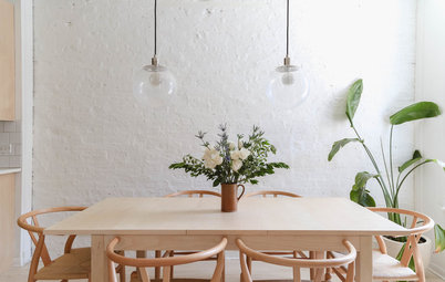 My Houzz: Inviting Whites and Pastels Revive a Small US City Flat