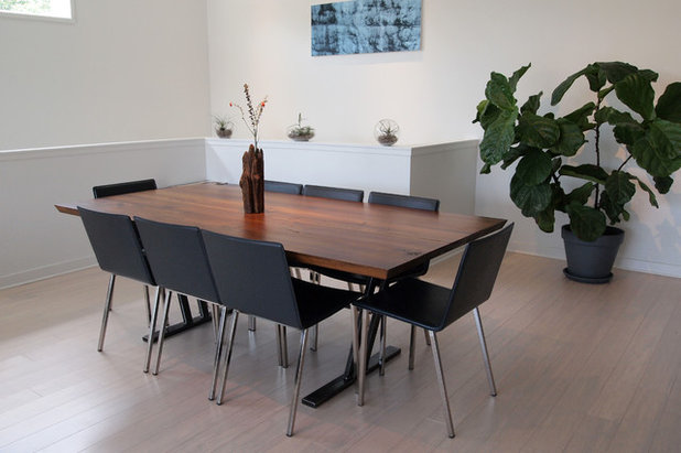 Vintage Contemporary Dining Room by Kayla Stark