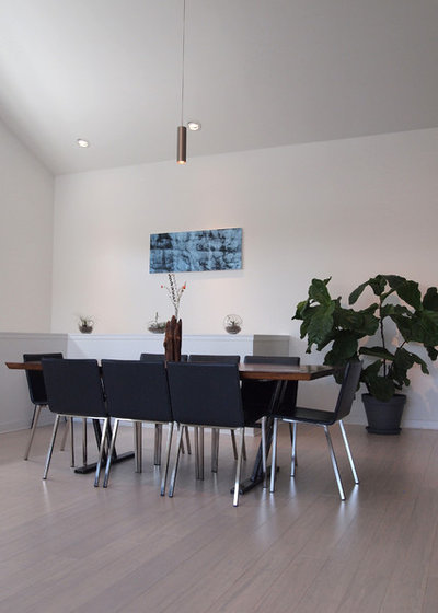 Superb Contemporary Dining Room by Kayla Stark
