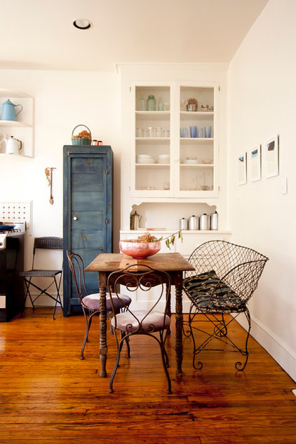 eclectic dining room by Chris A. Dorsey
