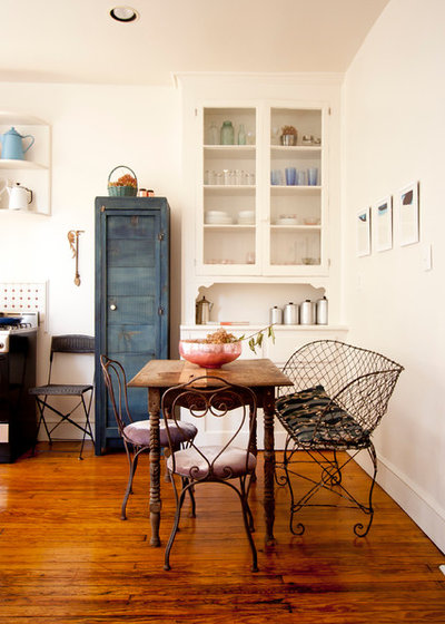 Shabby-chic Style Dining Room by Chris A Dorsey Photography