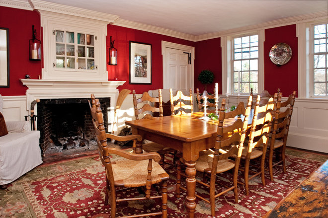 Farmhouse Dining Room by Mary Prince