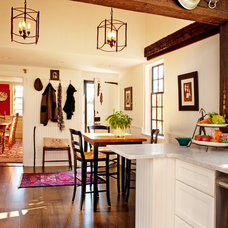 Farmhouse Dining Room by Mary Prince Photography