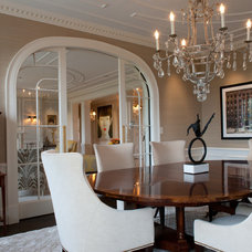 Contemporary Dining Room by Mary Prince Photography